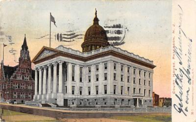 Court House  Paterson, New Jersey Postcard
