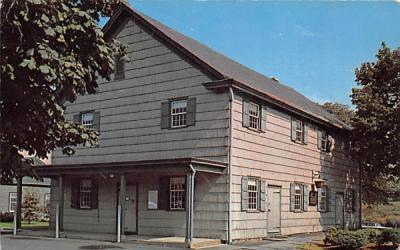 The Friends Meeting House Plainfield, New Jersey Postcard
