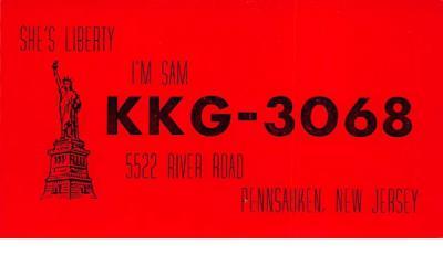 KKG - 3068 Pennsauken, New Jersey Postcard