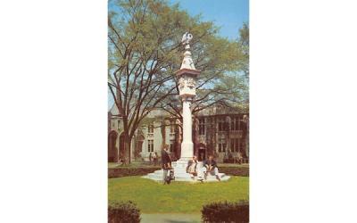 The Mather Sun Dial, Princeton University New Jersey Postcard