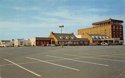 Ross' Ivy Stone Motor Hotel Pennsauken, New Jersey Postcard