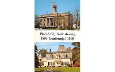 Plainfield Centennial 1969 New Jersey Postcard