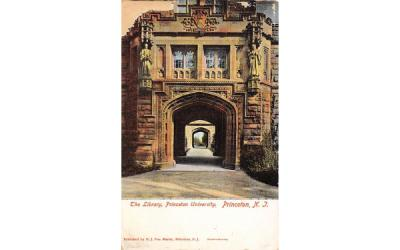 The Library, Princeton University New Jersey Postcard