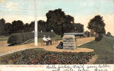 In East Side Park Paterson, New Jersey Postcard