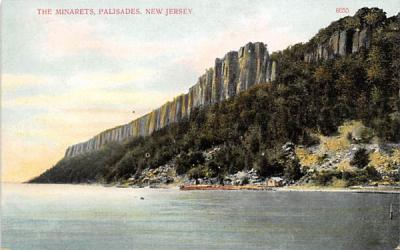 The Minarets Palisades New Jersey Postcard