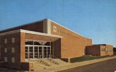 High School Auditorium - Bridgeton, New Jersey NJ Postcard