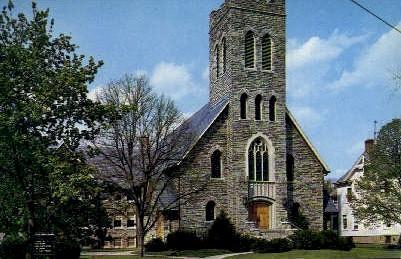 1st Methodist Church - Somerville, New Jersey NJ Postcard