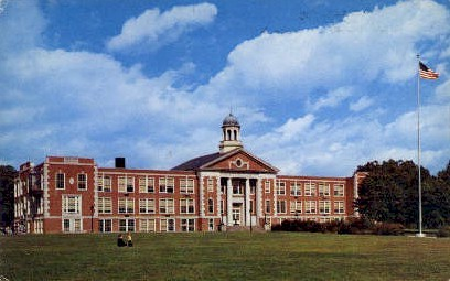 Bridgeton Junior High School - New Jersey NJ Postcard