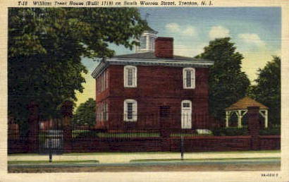 William Trent House - Trenton, New Jersey NJ Postcard