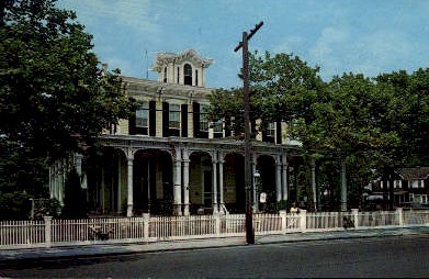 Mainstay Inn - Misc, New Jersey NJ Postcard