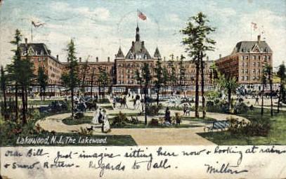 The Lakewood - New Jersey NJ Postcard