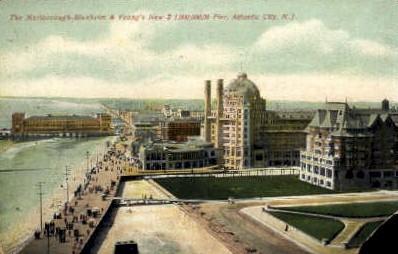 The Marlborough-Blenheim - Atlantic City, New Jersey NJ Postcard