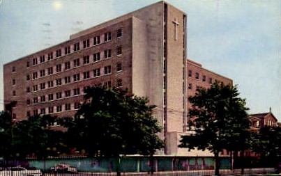 St. Francis Hospital - Trenton, New Jersey NJ Postcard