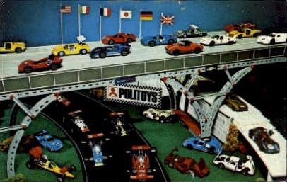 Authentic Die Cast Automotive Miniatures - Misc, New Jersey NJ Postcard