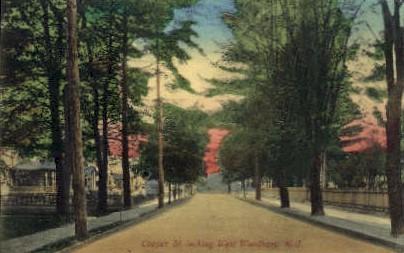 Cooper St.  - Woodbury, New Jersey NJ Postcard