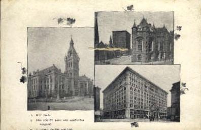 Ellicott Square Building - Misc, New Jersey NJ Postcard