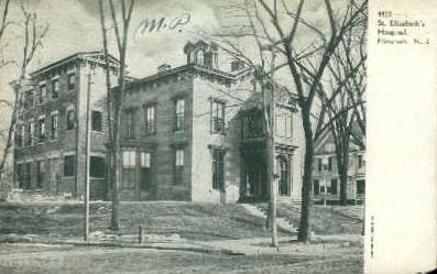 St. Elizabeths Hospital - New Jersey NJ Postcard