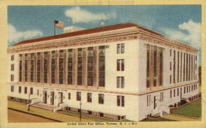 United States Post Office - Trenton, New Jersey NJ Postcard