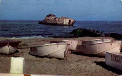 Concrete Ship Atlantus - Cape May, New Jersey NJ Postcard