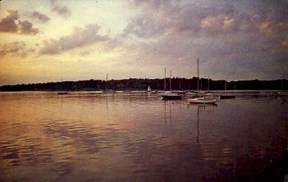 The Navesink River - Misc, New Jersey NJ Postcard