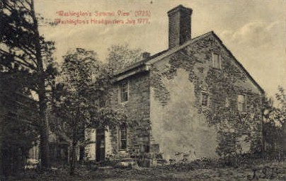 Washington's Headquarters - Misc, New Jersey NJ Postcard
