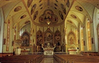 Saint Ignatius Mission Church - Misc, New Jersey NJ Postcard