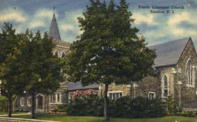 Trinity Episcopal Church - Trenton, New Jersey NJ Postcard