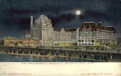 The Marlborough-Blenheim Hotel - Atlantic City, New Jersey NJ Postcard