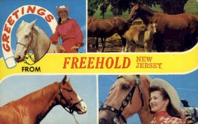 Freehold, New Jersey Postcard