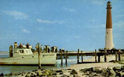 Lighthouse - Misc, New Jersey NJ Postcard