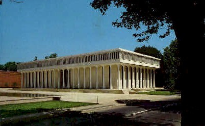 Woodrow Wilson School - Princeton, New Jersey NJ Postcard