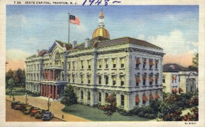 State Capitol - Trenton, New Jersey NJ Postcard