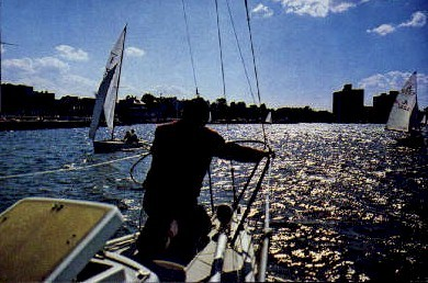 The Navesink River - Red Bank, New Jersey NJ Postcard