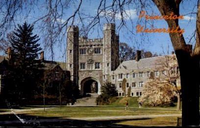 Blair Hall, Princeton University - New Jersey NJ Postcard