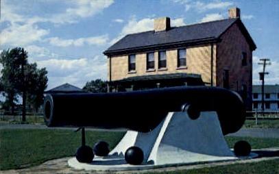 Rodman Gun, Gateway Nat'l. - Highlands, New Jersey NJ Postcard
