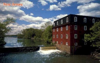 Millstone River at Carnegie Lake - Princeton, New Jersey NJ Postcard