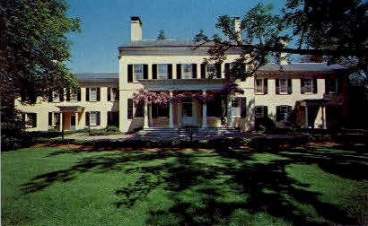 Morven, The governor's Residence - Princeton, New Jersey NJ Postcard
