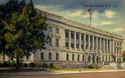 City Hall - Trenton, New Jersey NJ Postcard