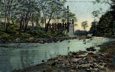 Along the Second River - Misc, New Jersey NJ Postcard