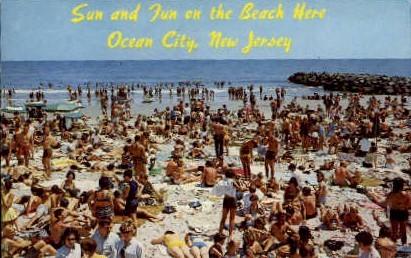 Ocean City, New Jersey Postcard
