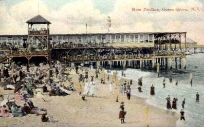 Ross Pavilion - Ocean Grove, New Jersey NJ Postcard