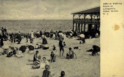 Lillagore's - Ocean Grove, New Jersey NJ Postcard