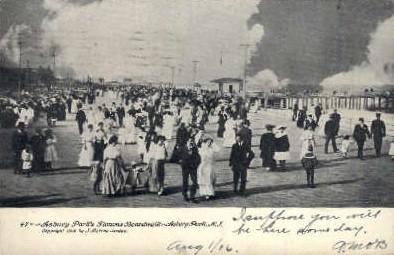 Asbury Park, New Jersey Postcard