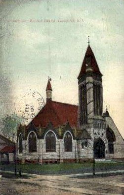 Seventh Day Baptist Church - Plainfield, New Jersey NJ Postcard