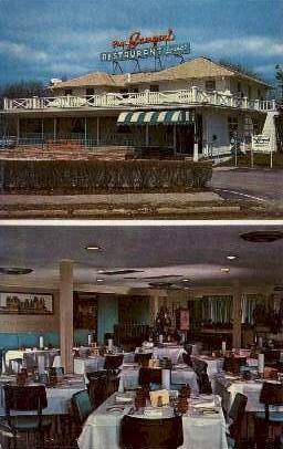Paul Samperi Restaurant  - Asbury Park, New Jersey NJ Postcard