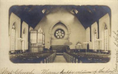 West Church - Misc, New Jersey NJ Postcard