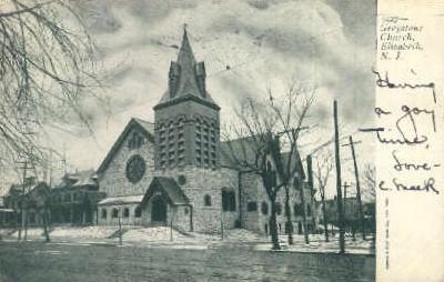Greystone Church - Elizabeth, New Jersey NJ Postcard
