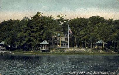 Ross Fenton Farm - Asbury Park, New Jersey NJ Postcard