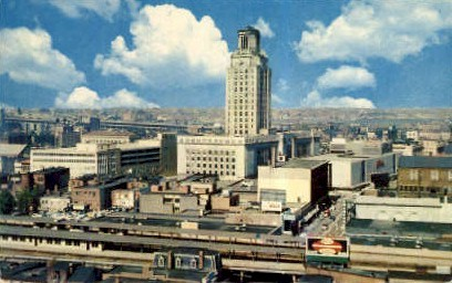 Birds Eye View of City Hall - Camden, New Jersey NJ Postcard
