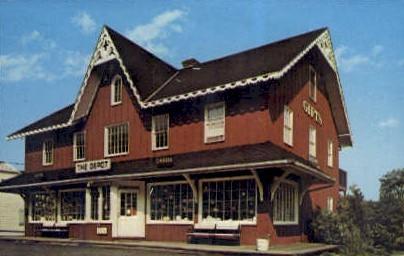 The Depot Gift Shop - Misc, New Jersey NJ Postcard